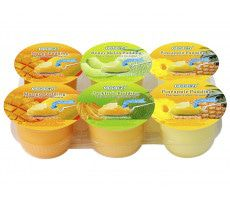Pudding avec Cubes des Fruits Assorti 708 gram