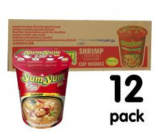 Yum Yum Cup Noodles Tom Yum Shrimp - 12-pack