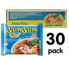 Yum Yum Instant Noodles Seafood - 30-pack
