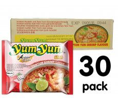 Yum Yum Instant Noedels Tom Yum Shrimp - 30-pack